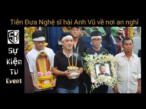 Lễ tang nghệ sĩ hài Anh Vũ