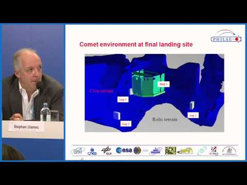 EGU2015: Latest results from the ESA Rosetta mission (PC1)