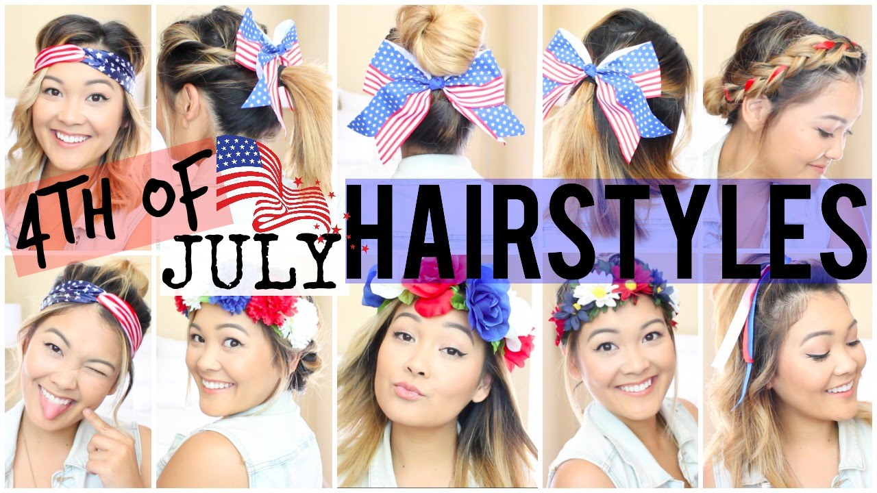 10 easy fourth of july hairstyles