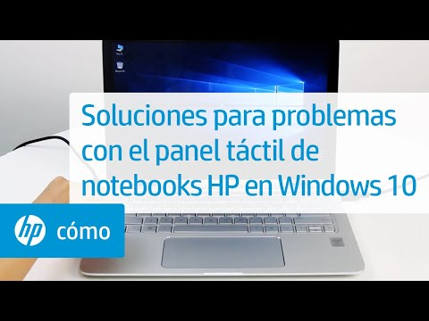 Soluciones para problemas con el panel táctil de notebooks HP en Windows 10 | HP Notebook | HP