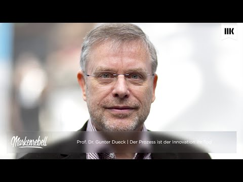 Innovation Managen - Prof. Dr. Gunter Dueck | Der Prozess is