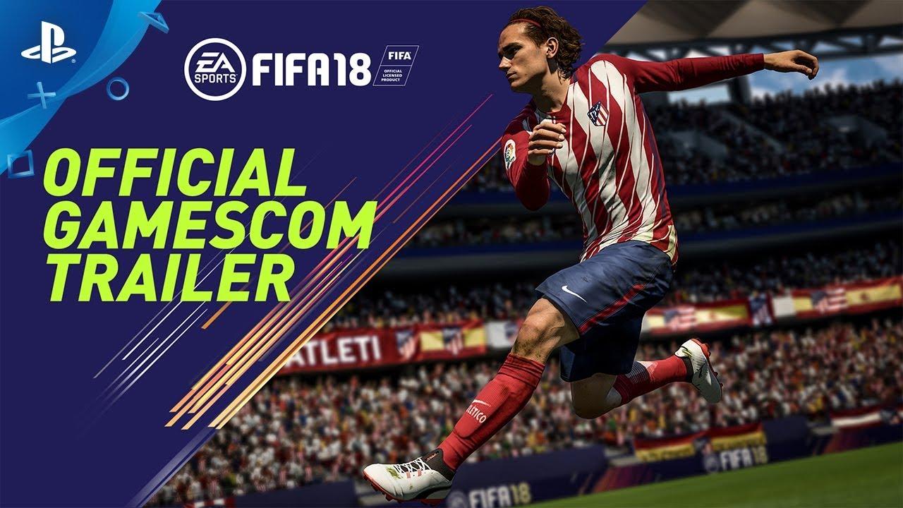 FIFA 18   Official Gamescom 2017 Trailer (Blue Monday Mix)   PS4