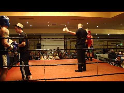 White Collar Boxing Ben Daniels vs Paul Farrell