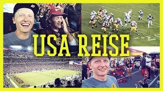 BEAST MODE in Action - Redskins vs Raiders im Stadion [USA VLOG]