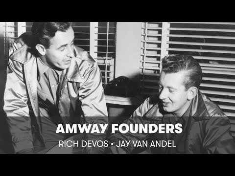 Amway was Founded by Rich DeVos & Jay VanAndel in 1959 | Amway