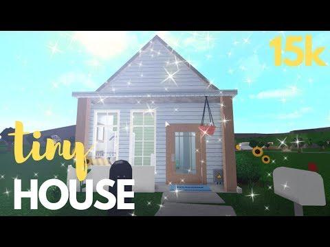 Roblox Bloxburg Aesthetic Tiny House 15k Hatello Blog