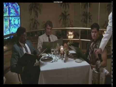 Major League (1989) Restaurant Scene