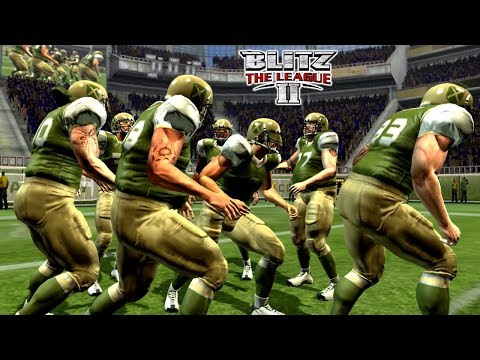 Most Insane Hits!! - NFL Blitz The League 2
