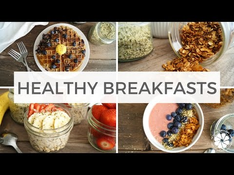 3 Healthy Breakfast Recipes With Hemp Hearts | Quick, Easy, Make-Ahead | Healthy Grocery Girl