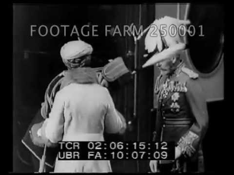King George V Welcomes Duke 250001-74 | Footage Farm