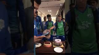 Sylhet Sixers Team Winning Celebration in Hotel : David Warner, Sabbir Rahman,Afif Hossain