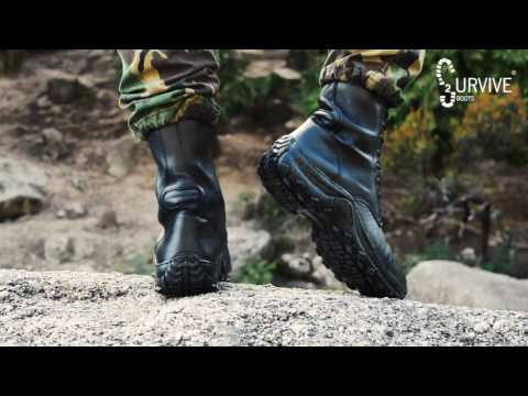 2Survive Military Boots  PQ PRO