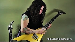 Charlie Parra - A Melodic Metal Guitar Solo October 2014