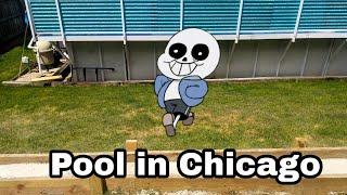 UnderTale Plush Adventure Episode 125 Chicago Pool