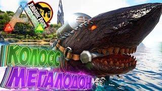 Приручаем КОЛОССА МЕГАЛОДОНА - ARK Survival Evolved Модифицированное Выживание #22