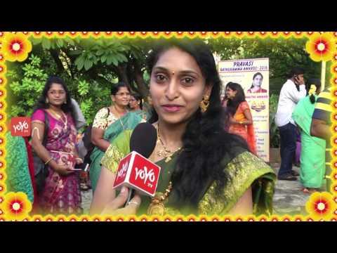 Pravasi Bathukamma Celebrations At Hyderabad By Telangana ATA | YOYO NRI EVENTS