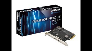 ASRock ThunderBolt 3 Expansion card for ASRock 200 series launched Price from 7,380 yen