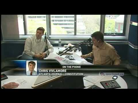 Winnipeg Jets Return: Atlanta Jounalist Chris Vivlamore Interview: 95% Gone