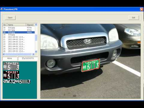 Automatic License Plate Recognition Using Python And Open