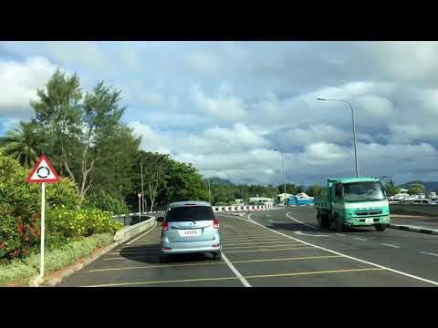Mahe Airport to Victoria Seychelles