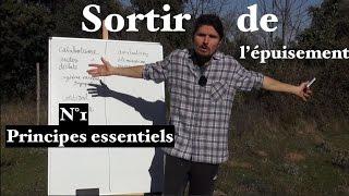 Sortir de l'épuisement n°1, les principes essentiels  - www.regenere.org