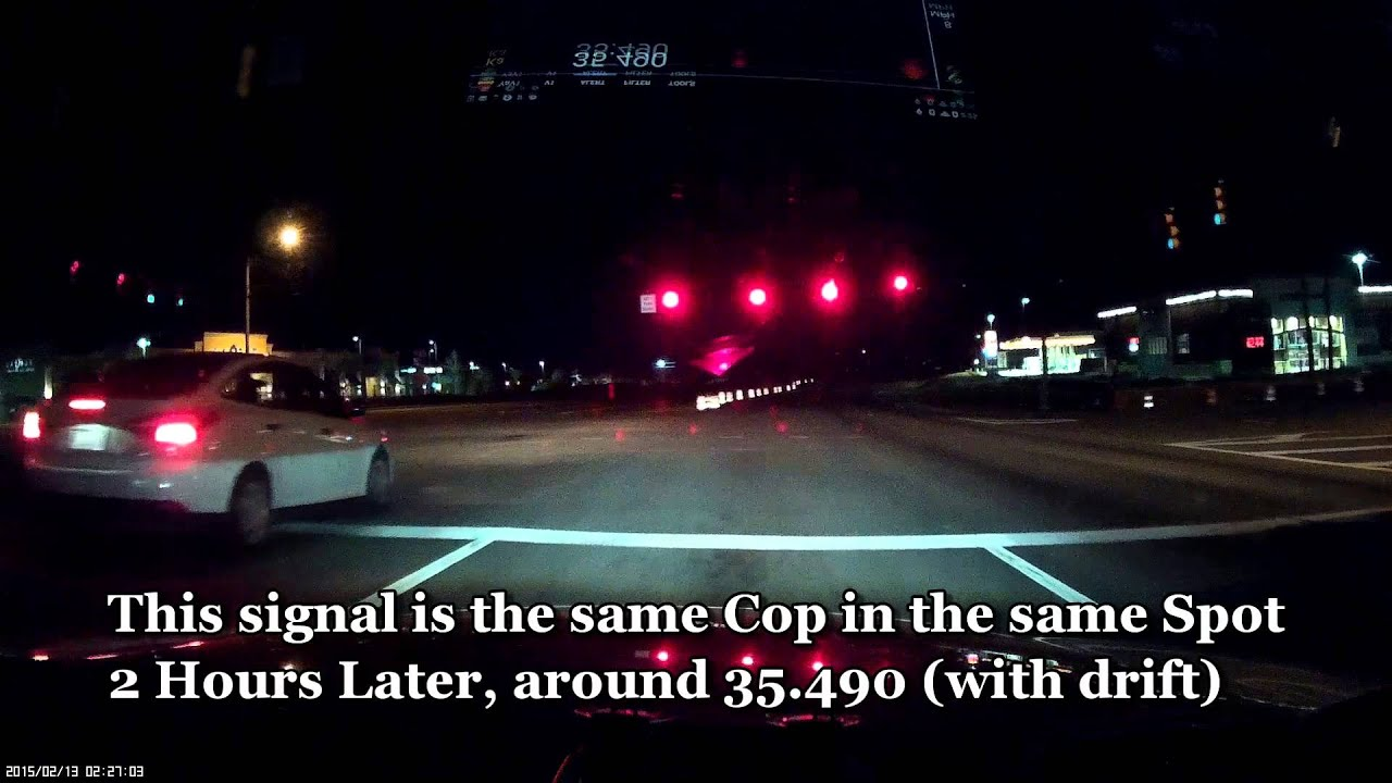 Saved From Speeding Ticket   Valentine One Radar Detector   Hidden Cop  Speed Trap   YouTube