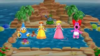 Mario Party 9 Step It Up - Kamek vs Peach vs Daisy vs Birdo Gameplay | MARIOGAMINGHUB