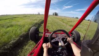 Suzuki Hayabusa off road Buggy lap go pro on board