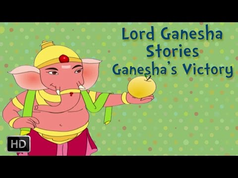 Ganesha short stories: Ganesha's VICTORY!!!
