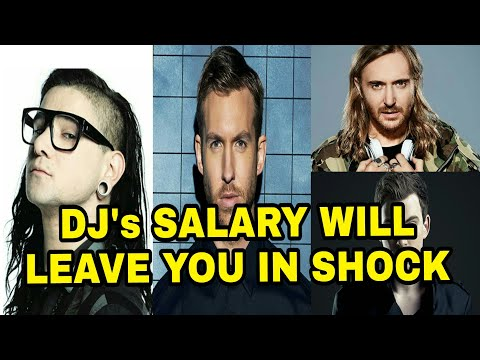 Top DJ's SALARY, Hardwell, David Guetta, Tiesto, Skrillex, Martin Garrix. HOW MUCH THEY CHARGES ???