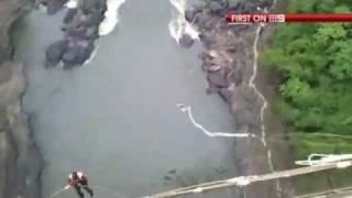 Aussie tourist's bungee cord snaps thumbnail