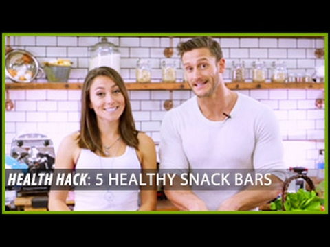 5 Healthy Snack Bars: Health Hacks- Thomas DeLauer
