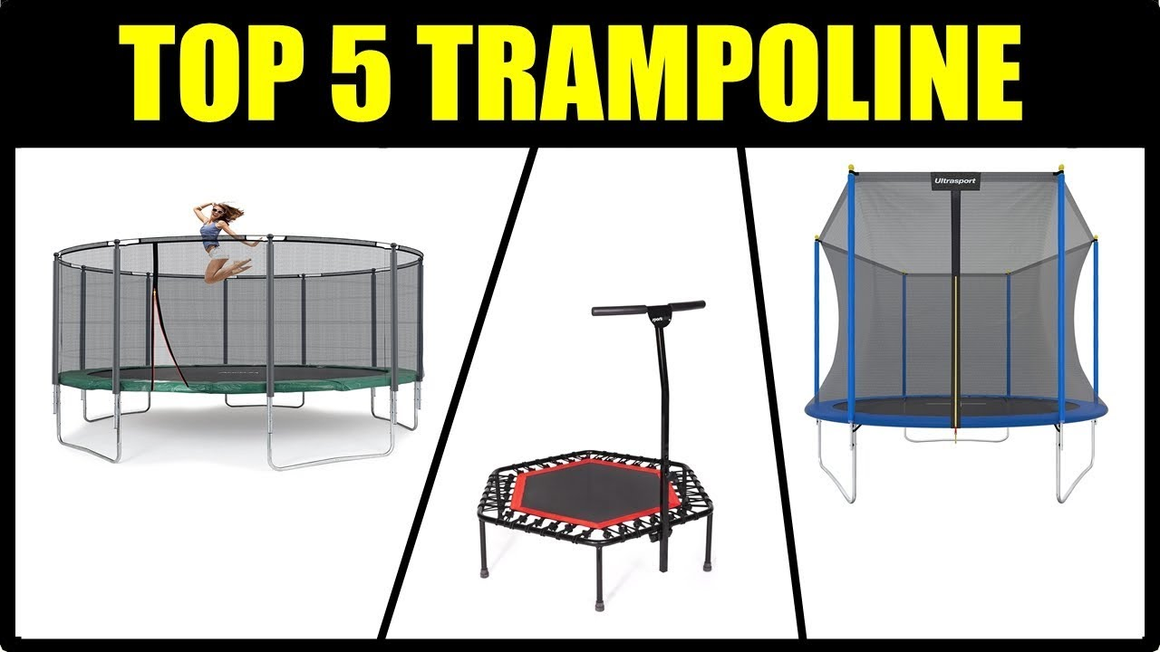 die besten 5 trampolin modelle gartentrampolin test 2018. Black Bedroom Furniture Sets. Home Design Ideas
