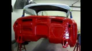 1955 Buick Century Model 66R Firewall painting Complete