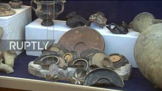 Russia: Ancient terracotta head found at bottom of Crimea