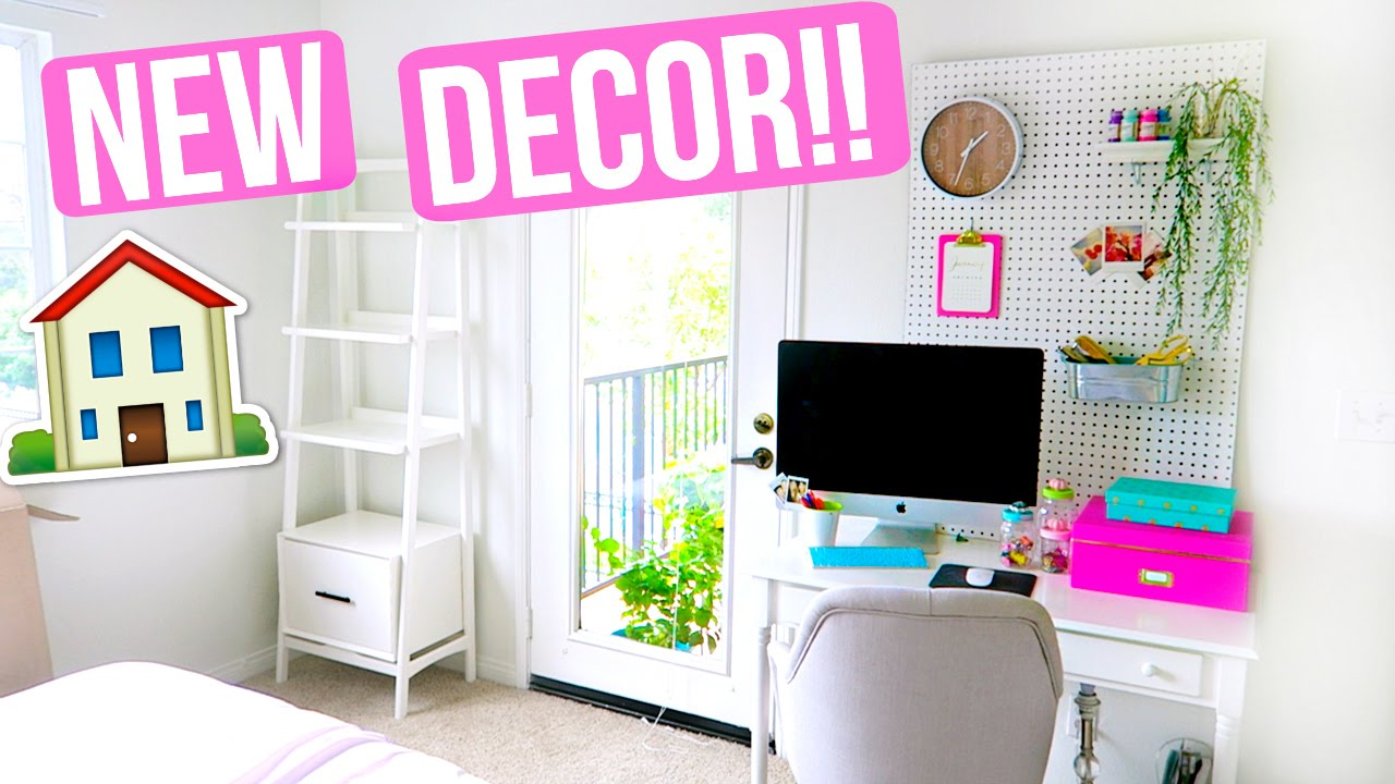 NEW ROOM DECOR / FURNITURE!!!   YouTube
