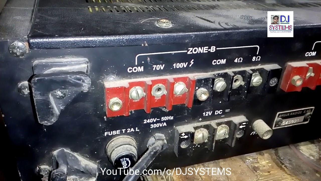 Ahuja Amplifier Tza 700 Watt Price