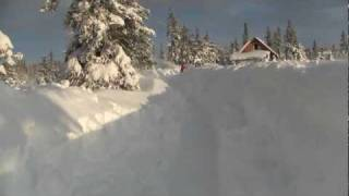 Homer Alaska blizzard, 2012. How to dig out from 6 feet of snow, honda snowblower