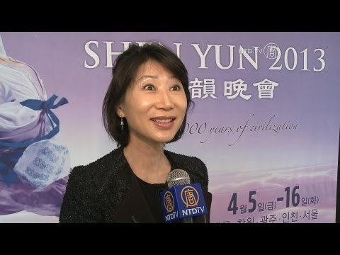 Shen Yun Performing Arts Final Show in Daegu and the Audience is Reluctant to Leave