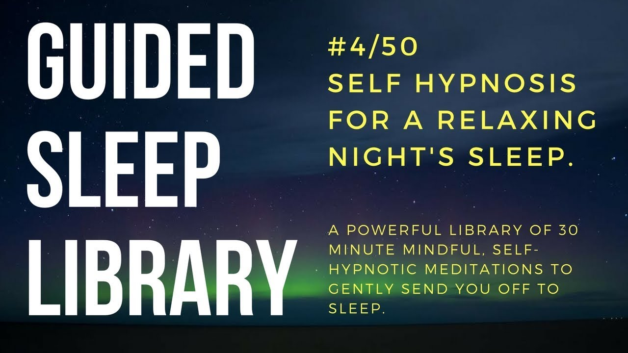 4/50  Best guided self hypnosis audio for beating insomnia