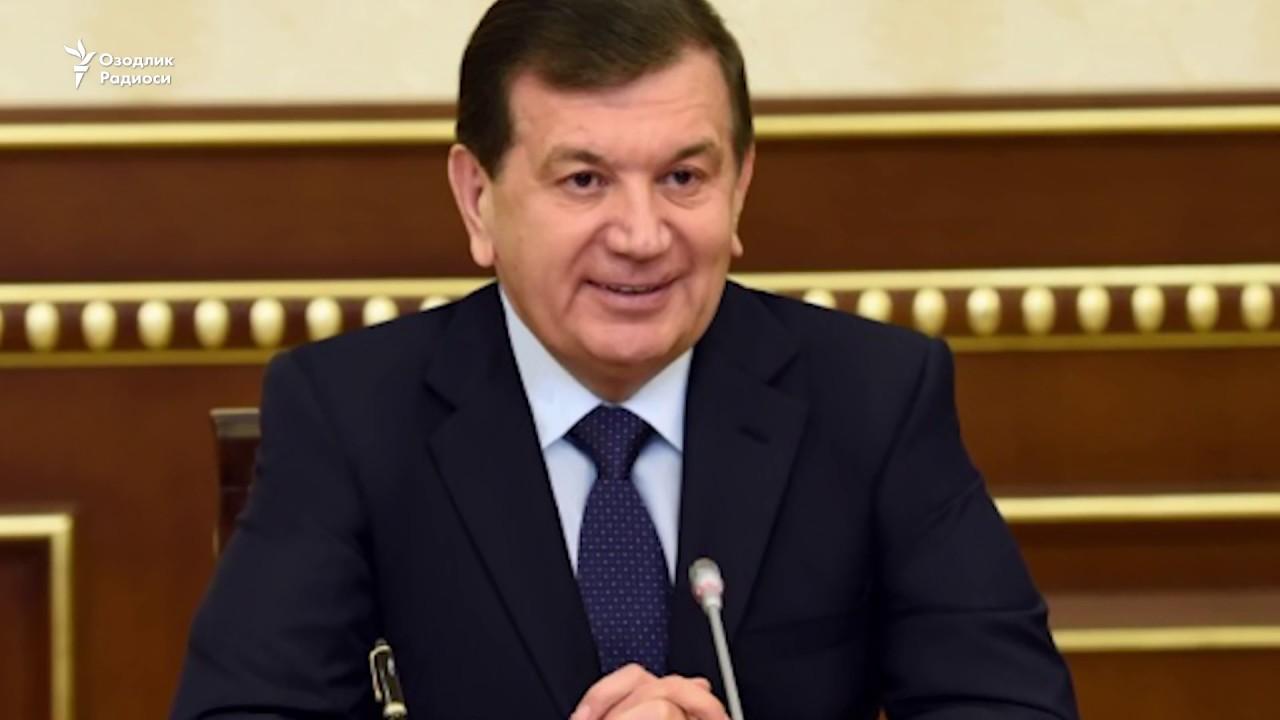 Shavkat Mirziyayev now
