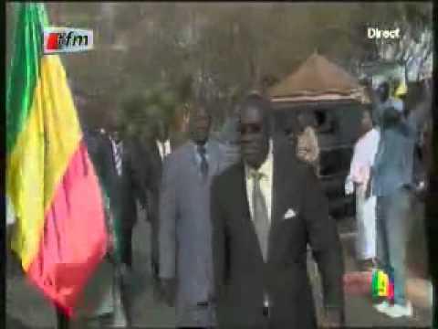 lanalyste.com - Discours à la nation - Arrivée du Président Abdoulaye Wade 1.