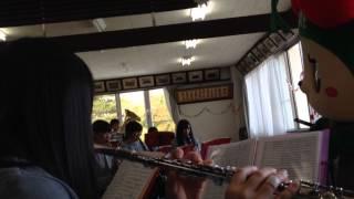 ☆寒河江高校吹奏楽部の練習に参加したよ☆