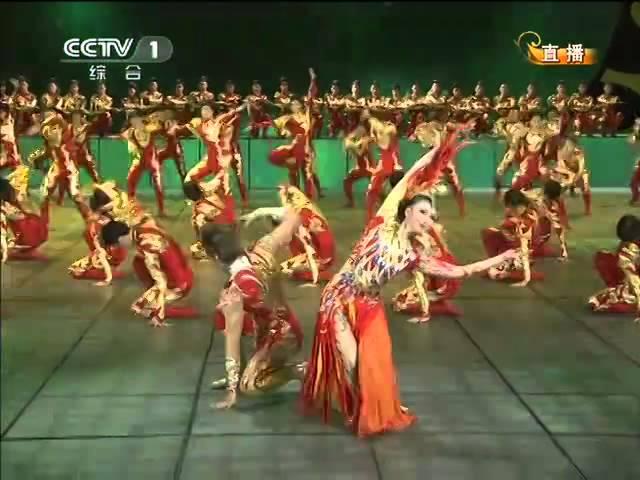 2012 |CCTV春晚  舞蹈《龙凤呈祥》李倩 张傲月| CCTV春晚