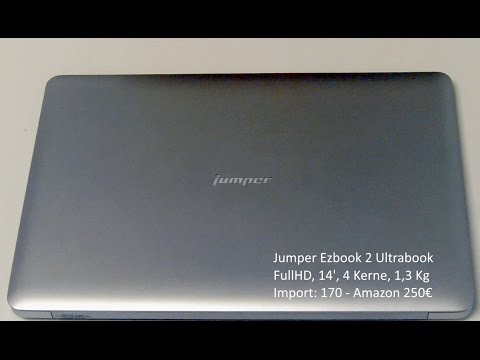 Jumper Ezbook 2 Ultrabook 14 Zoll FHD 173€