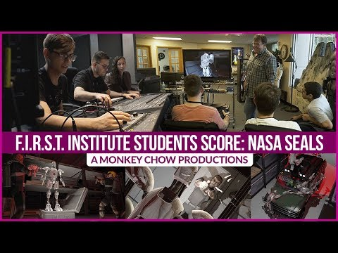 F.I.R.S.T. Institute Students work with Monkey Chow Productions
