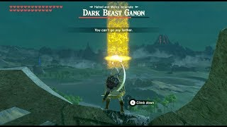 Zelda Breath of The Wild - Kill Ganon from Great Plateau! it's possible? YES!
