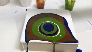 ACRYLIC PAINT POURS & SILICONE