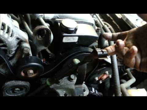 chevy venture pontiac montana harmonic balancer replace ... diagram 2000 pontiac montana engine vibration dampener