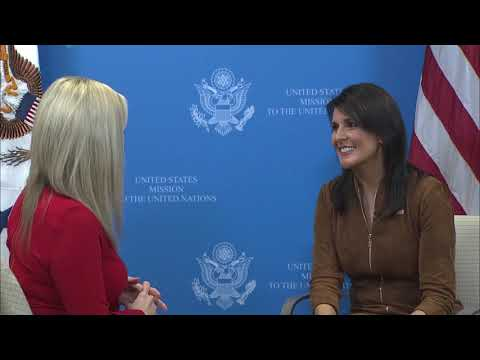 FULL, unedited interview with US Ambassador to the UN Nikki Haley